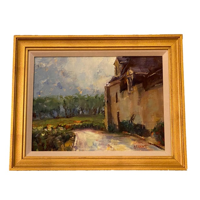 19th Century French Painting in Gilt Frame For Sale - Image 5 of 5