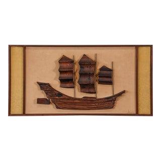 Large Witco Ship Art Piece
