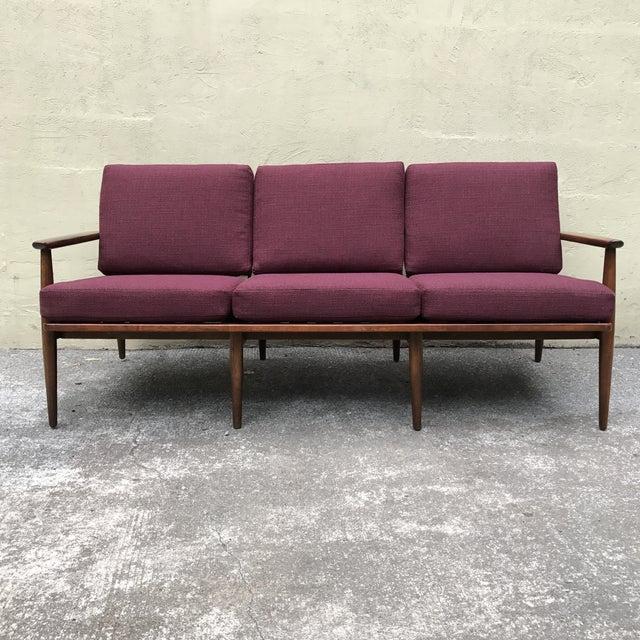 Danish Modern Style 3-Seater Sofa - Image 4 of 11