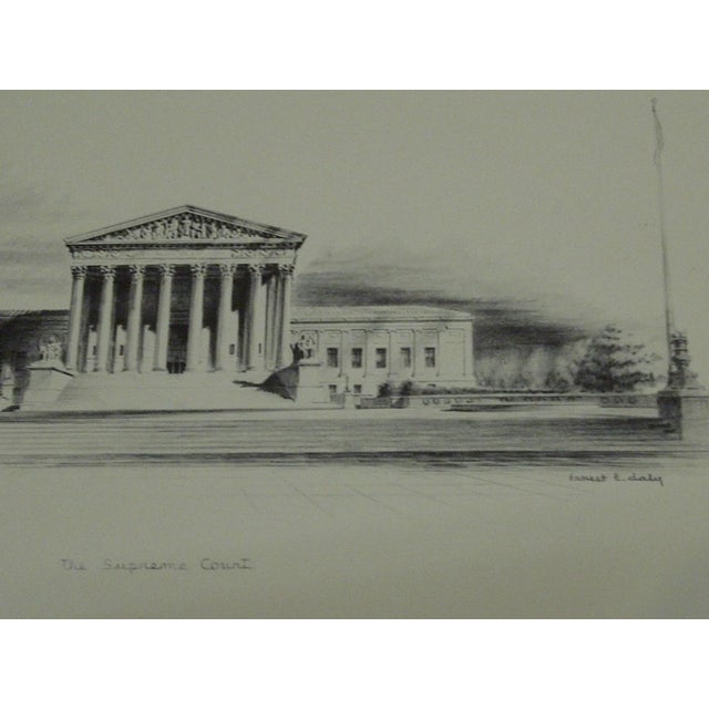 """The Supreme Court"" by Ernest T. Daly - Image 4 of 4"