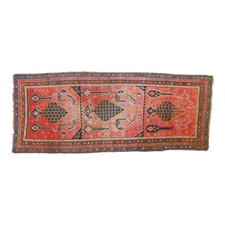 "Antique Karabagh Rug Runner - 3'7"" X 8'10"""