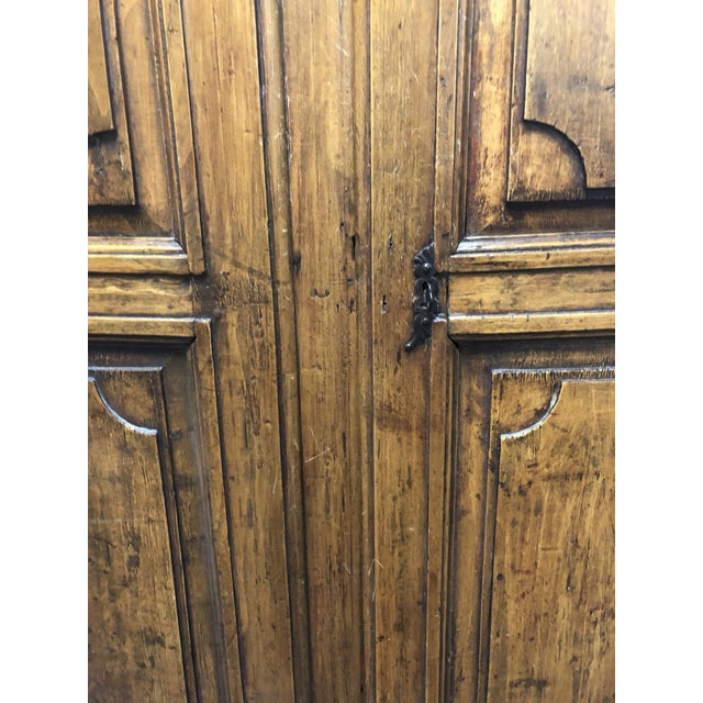 Vintage Pine Armoire - Image 8 of 10