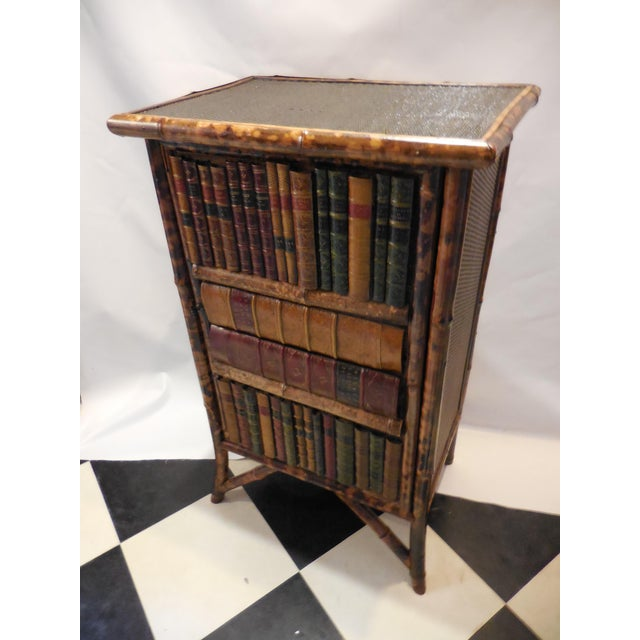 Bamboo Library Cabinet - Image 2 of 8
