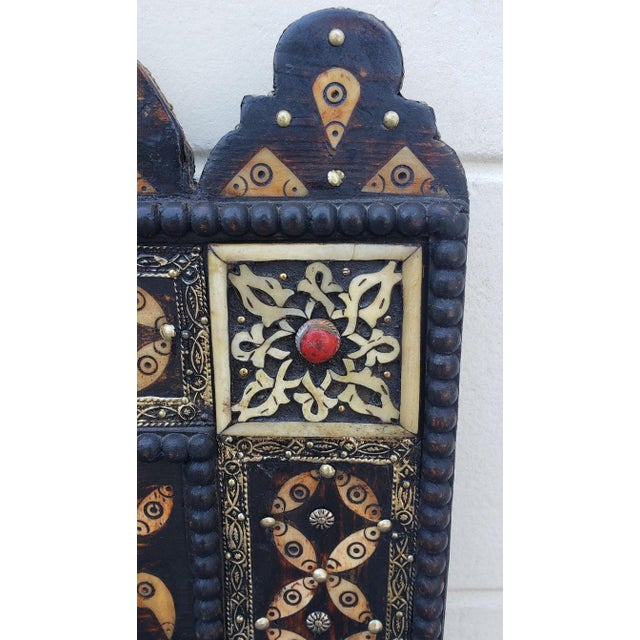 2010s Marrakech Rectangular Inlay Mirror For Sale - Image 5 of 7