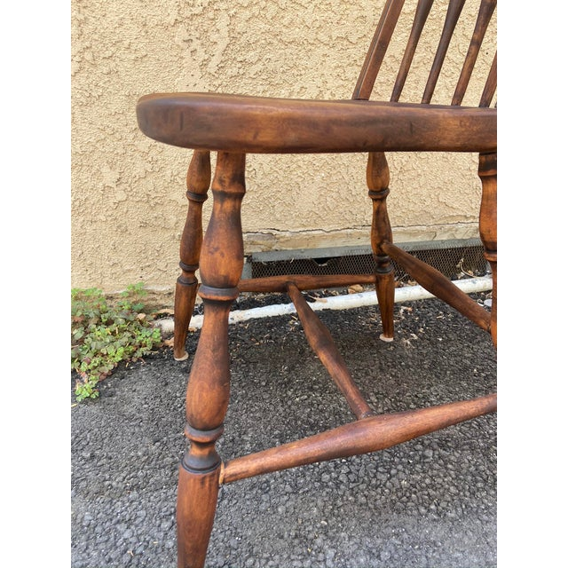 Early 20th Century Antique Windsor Side Chair For Sale - Image 5 of 12