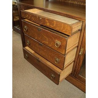 Antique Mission Arts & Crafts Quarter Sawn Oak Buffet Preview