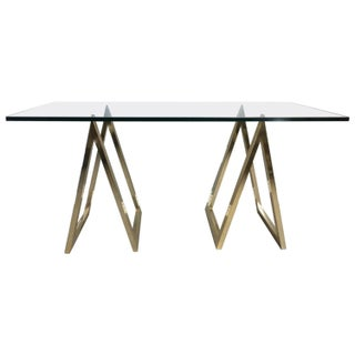 """A"" Frame Sawhorse Console Table or Desk"