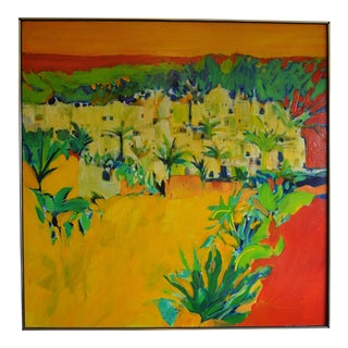 "Original ""Tropical Impressions"" Abstract Painting For Sale"