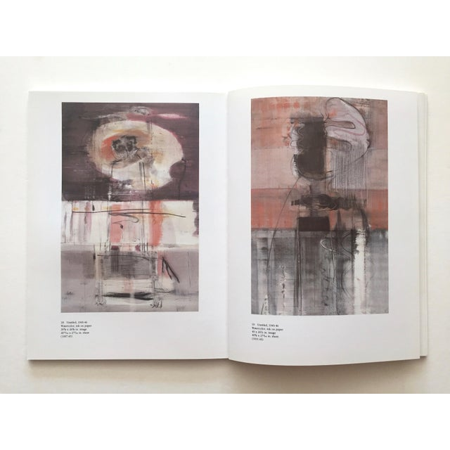 """"""" Mark Rothko : Works on Paper """" Vintage 1984 1st Edtn Abstract Expressionist Lithograph Print Exhibition Art Book For Sale - Image 9 of 13"""