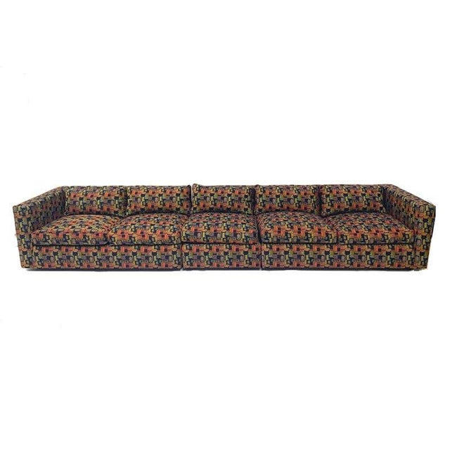 Excellent Thayer Coggin sofa. Very comfortable and super clean. Down filled cushions. This piece is from the 1970s, but...