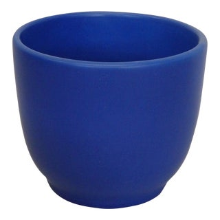 Vivid Blue California Modern Planter Pot by Gainey Ceramics For Sale