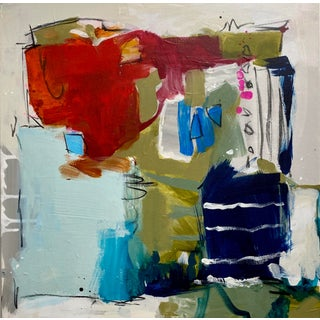 """Abstract Expressionist Painting by Gina Cochran """"Crazy, but Also Mostly True"""" For Sale"""