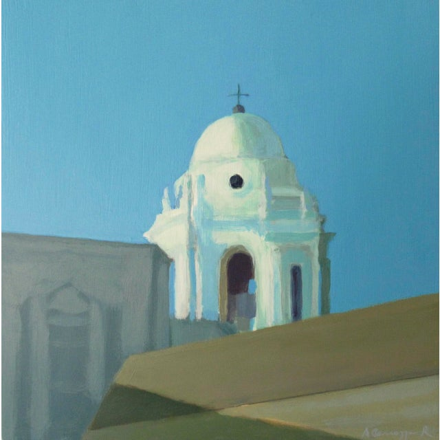 Bell Tower of Cádiz Cathedral, Spain by Anne Carrozza Remick For Sale