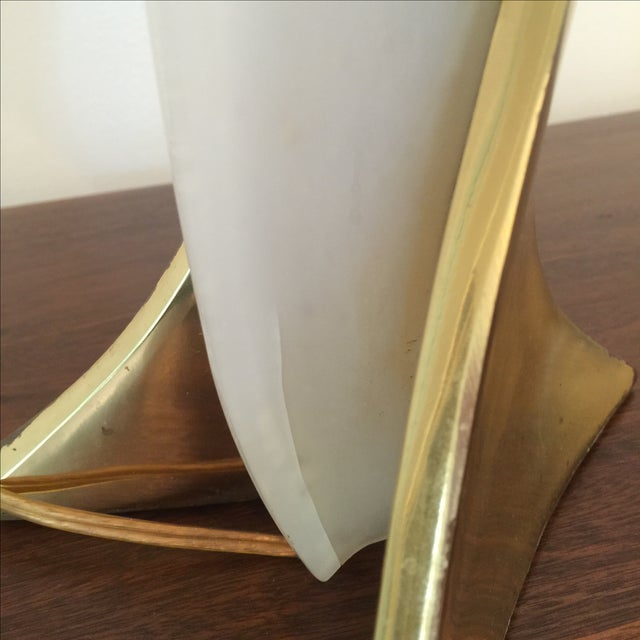 Rougier Brass & Acrylic Table Lamp - Image 9 of 10