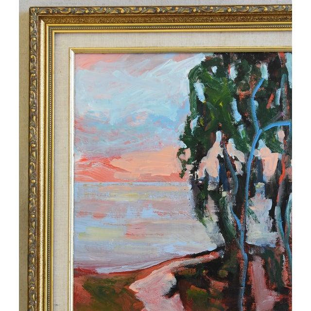 Juan Guzman Plein Air Seascape Landscape Oil Painting For Sale - Image 4 of 9