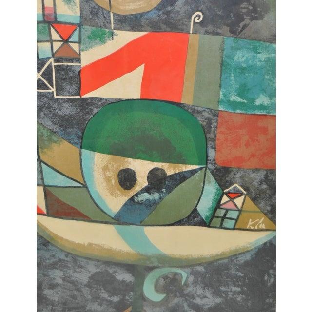 Paul Klee Vintage 1950s Silkscreen For Sale In San Francisco - Image 6 of 9