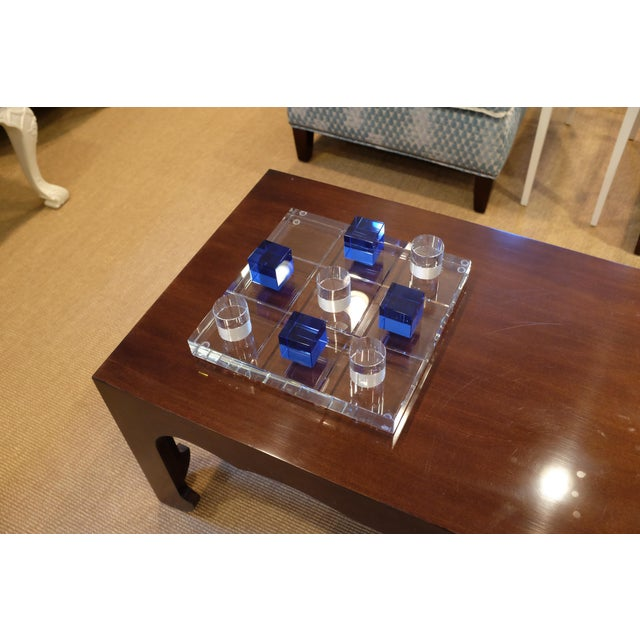 Modern Crystal Game Board For Sale - Image 9 of 11