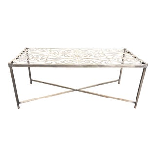 Modern Pierre Deux Console Table For Sale