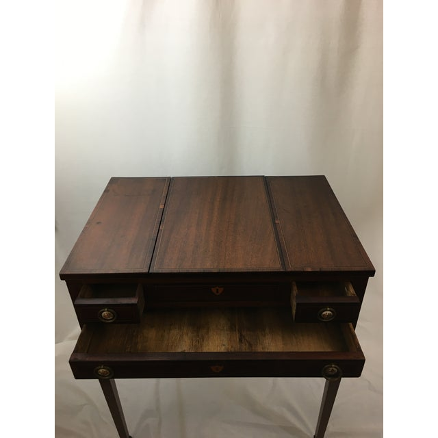 Early 20th Century Mahogany Vanity For Sale - Image 10 of 13