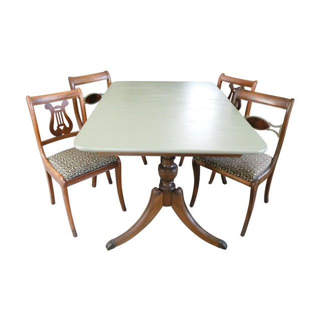 Duncan Phyfe Dining Set - Image 1 of 10