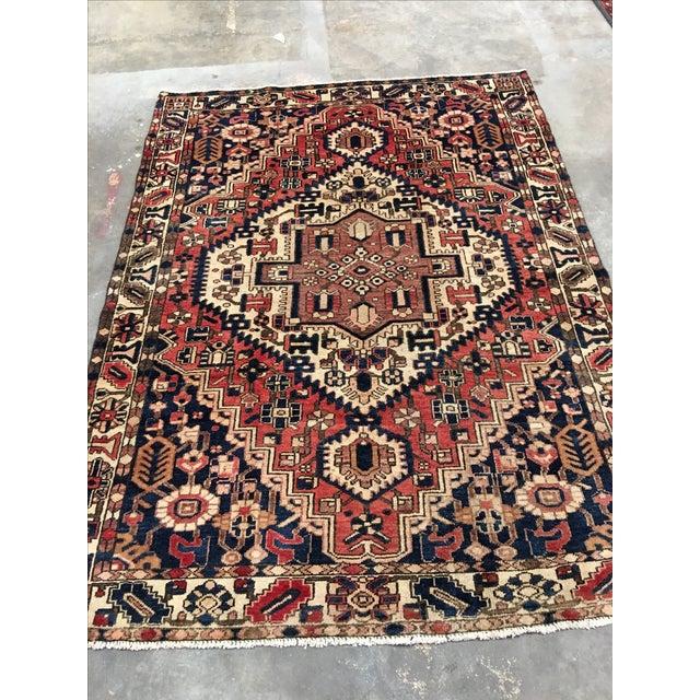 """Bactiari Persian Rug - 5'1"""" x 6'10"""" - Image 3 of 9"""