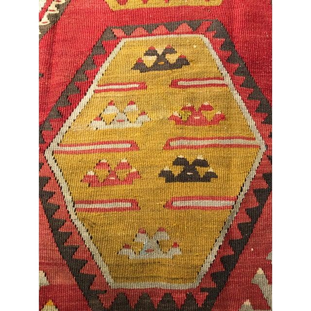 """Bellwether Rugs Vintage Turkish Kilim Rug - 8'8"""" x 11'2"""" - Image 5 of 9"""