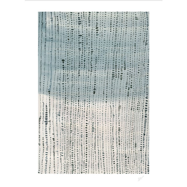 "Shorelines II - Watercolor Print - 24"" X 30"" - Image 4 of 4"