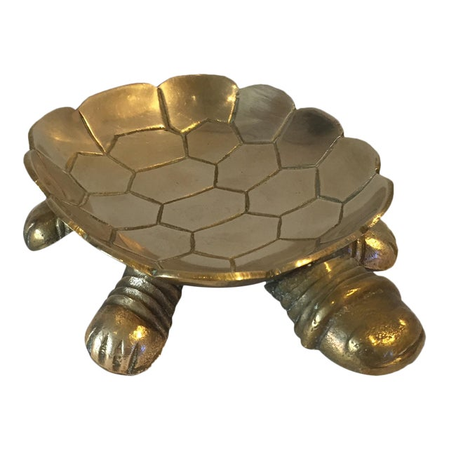Brass Turtle Soap Dish - Image 1 of 5