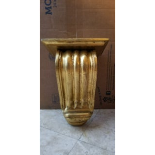 Large Gold Gilt Wall Mounted Corbel Sconce Shelf Preview