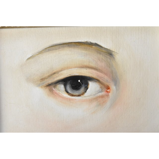 2020s Contemporary Lover's Eye Oil Painting by Susannah Carson For Sale - Image 5 of 7