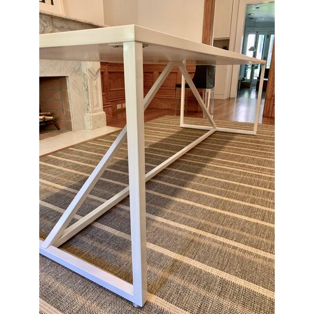 Contemporary Vintage BluDot Strut Table For Sale - Image 3 of 4