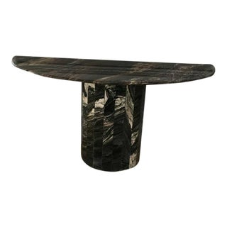Custom-Made Marble Console Table