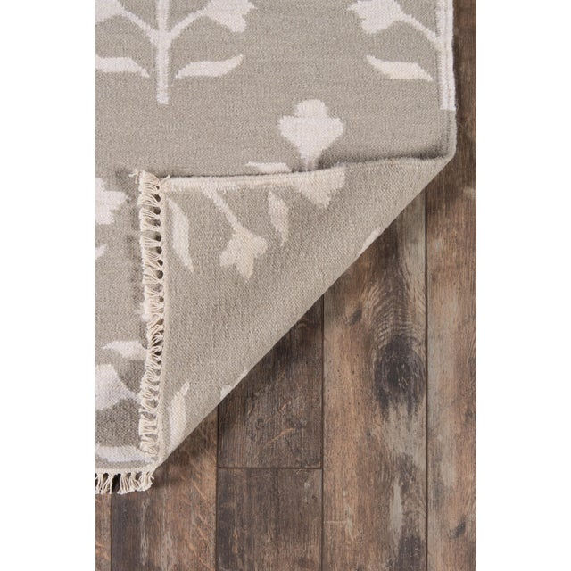 """Contemporary Erin Gates Thompson Grove Grey Hand Woven Wool Runner 2'3"""" X 8' For Sale - Image 3 of 7"""
