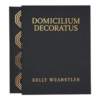 Domicillium Decoratus Book, Signed For Sale