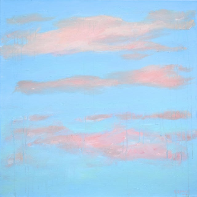 "Modern ""Cloud Study"" Contemporary Painting by Stephen Remick For Sale - Image 11 of 11"