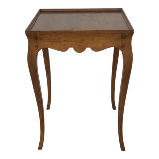 1980s French Country Milling Road of Baker Side Table For Sale