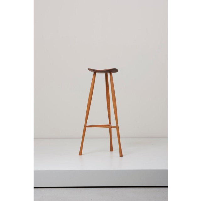 Magnificent Studio Craft Stool By Karl Seemuller Us 1975 Beatyapartments Chair Design Images Beatyapartmentscom