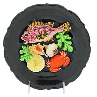 Majolica Trompe-L'œil Kitchen Plaque
