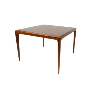 Johannes Andersen Cfc Silkeborg Danish Modern Walnut Coffee Table For Sale