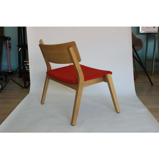 2010s Modern Verywood Frame Lounge Chair For Sale - Image 5 of 7