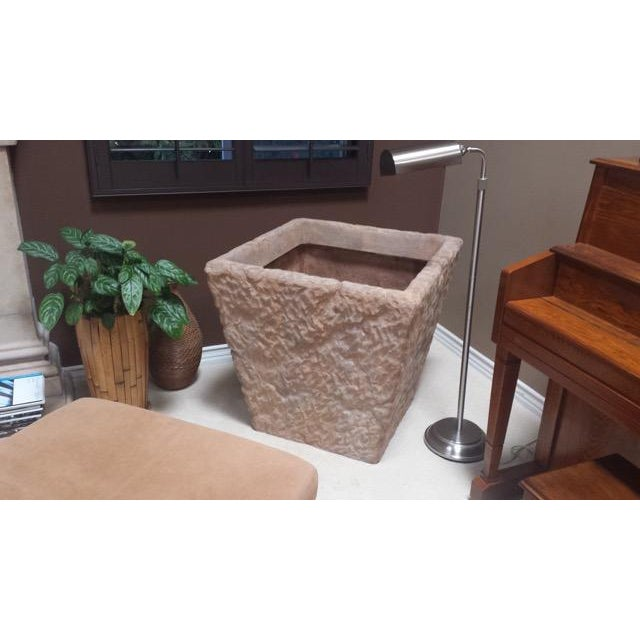 Huge Renaissance Hewn Cast Stone Planter - Two - Image 4 of 5