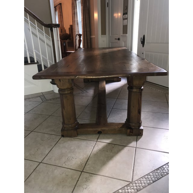 Brown Ralph Lauren Danby Dining Room Table For Sale - Image 8 of 10