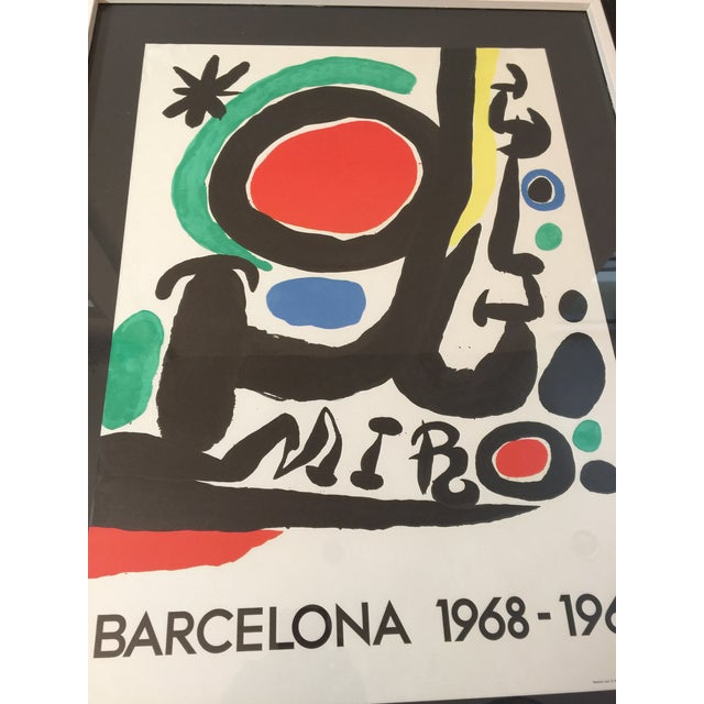 Abstract Expressionism Barcelona 1968 Lithograph by Joan Miró For Sale - Image 3 of 6