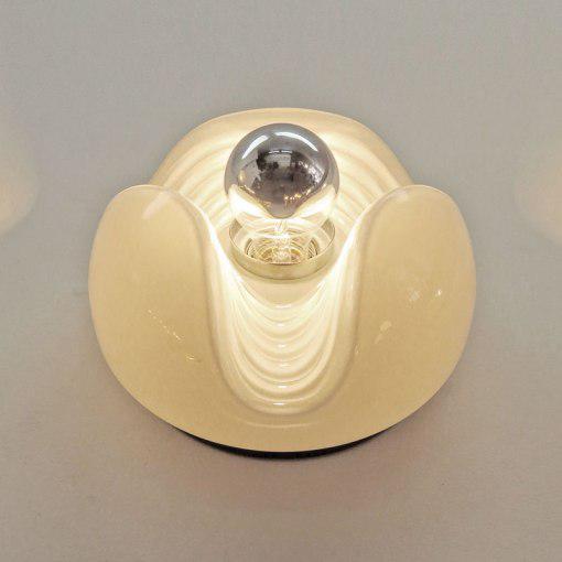White Peill & Putzler Flush Mount Light For Sale - Image 8 of 10