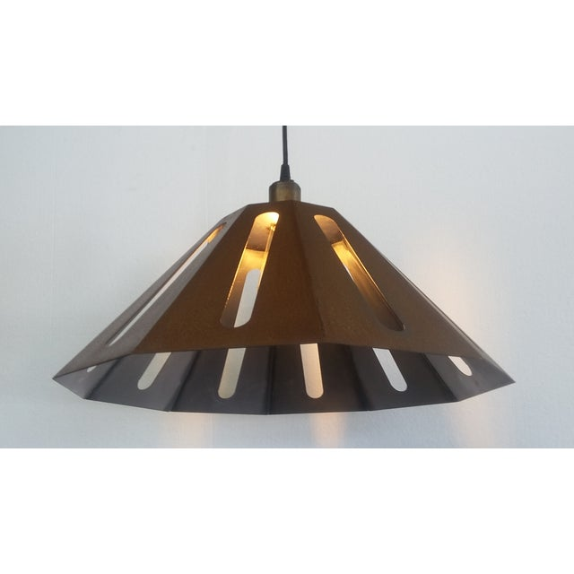 Missionary Pendant Light For Sale - Image 5 of 5
