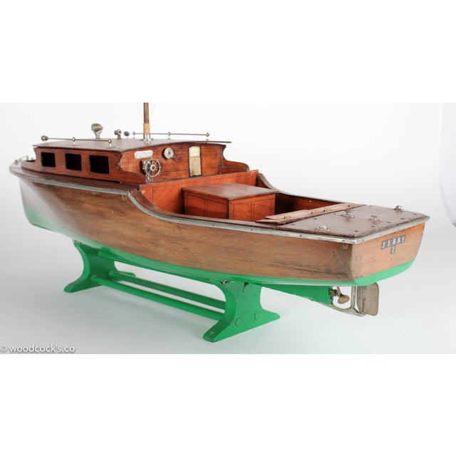 1940s Steam Powered Wooden Boat - Image 6 of 11