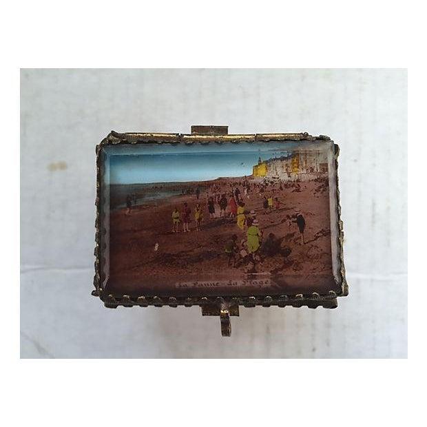 Antique Alsatian Souvenir Ring Box For Sale - Image 5 of 5