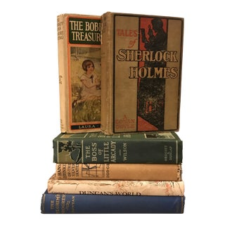 Decorative Assorted Books - Set of 6