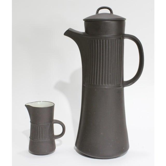 Jens Harald Quistgaard Dansk Flamestone Coffee Service by Jens Quistgaard, 21 Piece Set For Sale - Image 4 of 8