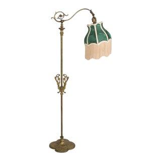 Restored Victorian Bridge Lamp For Sale